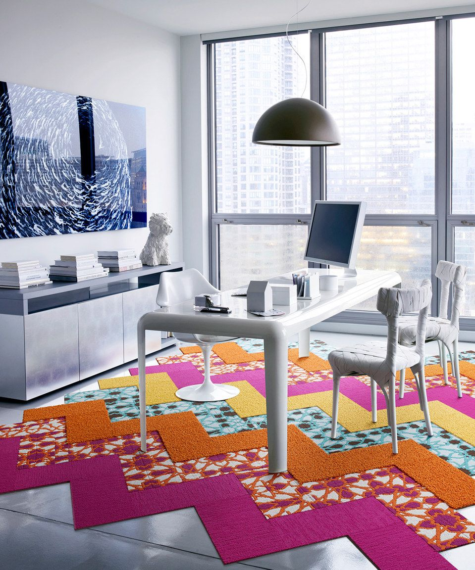 Another great find on #zulily! Stained Glass Five-Cut Design Rug Square Set by FLOR #zulilyfinds