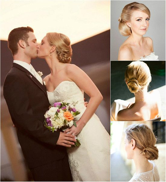 Tidy And Neat Chignon For Wedding By Clip In Slick Best 20 Inch Human Hair Extensions