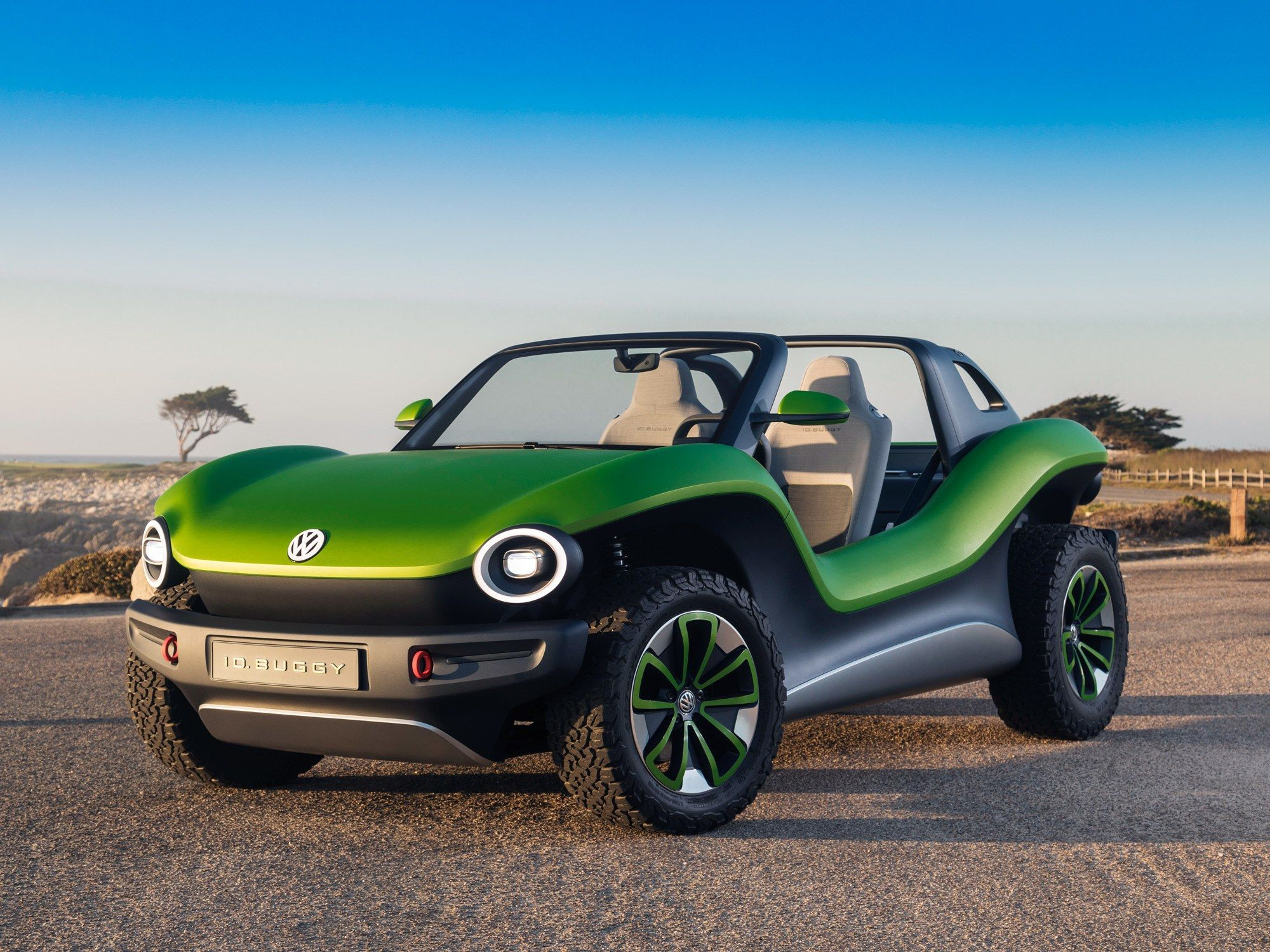 Vw S Id Buggy Is An Electric Dune Dominator Dune Buggy Volkswagen Electricity