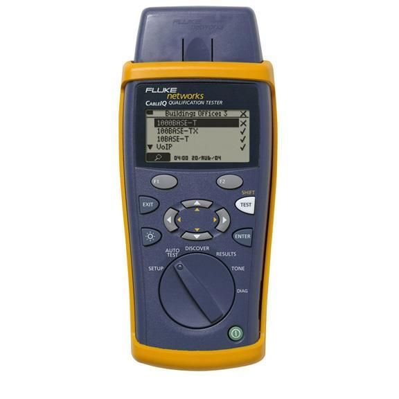 Fluke Networks Qualification Tester Ciq 100 Networx Direct Electrical Tester Networking
