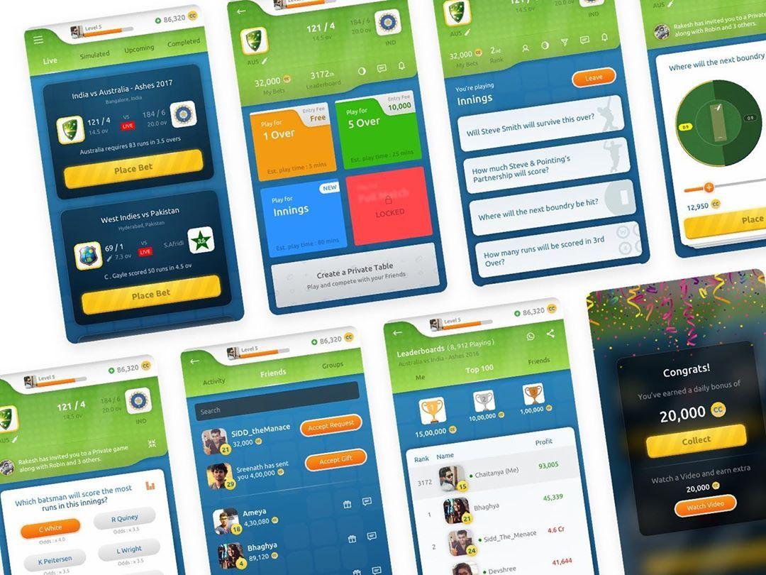 Live Cricket Betting App
