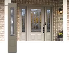 Image result for front doors with glass side panels