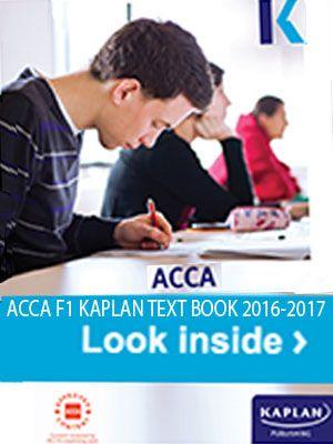 Acca F9 Book Pdf