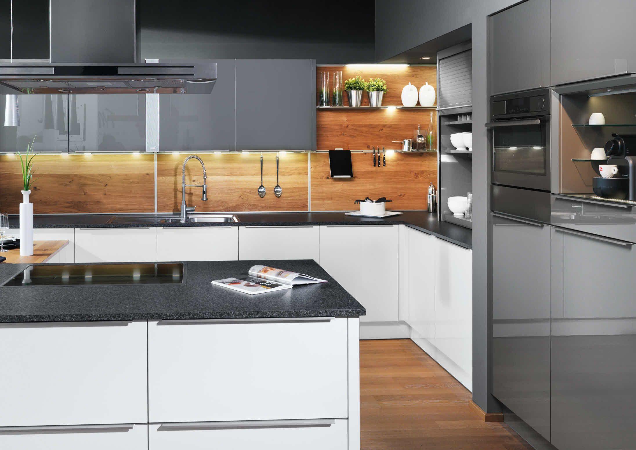 Funktionsrückwand komplett | Nytt kjøkken | Pinterest | Küche