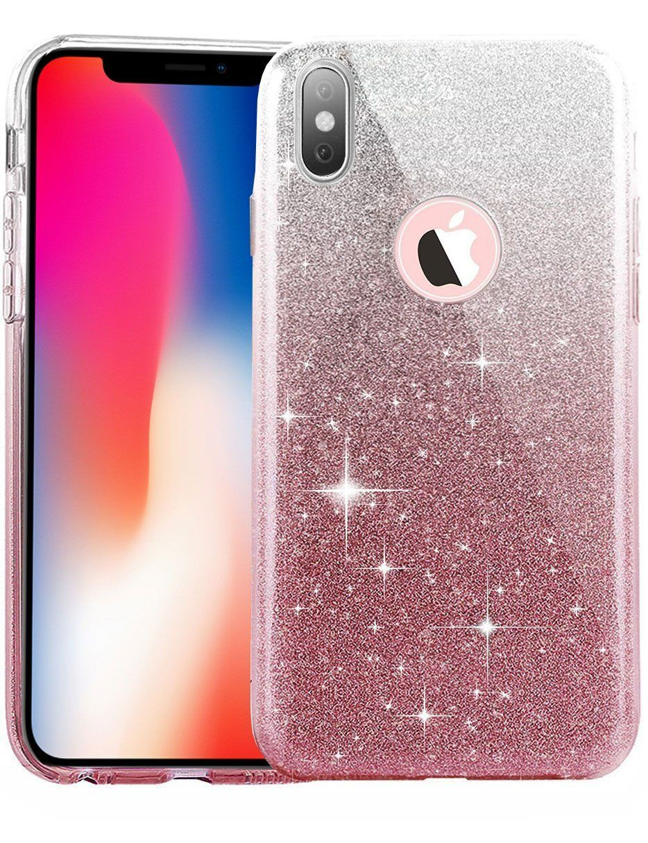 finest selection 06abc a83ec iPhone X Case, Eraglow iPhone X Edition Back Cover Shinning ...