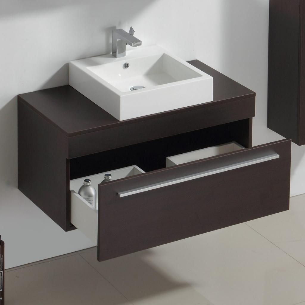 Ashburton Wall Counter Top Basin Cabinet Wenge Pt Mf65 Pt Mf65