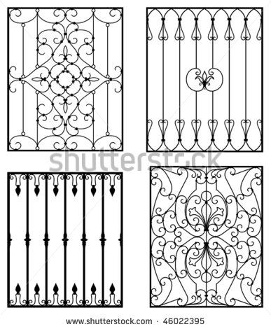 Spanish Wrought Iron Window Grille With Images Iron Windows