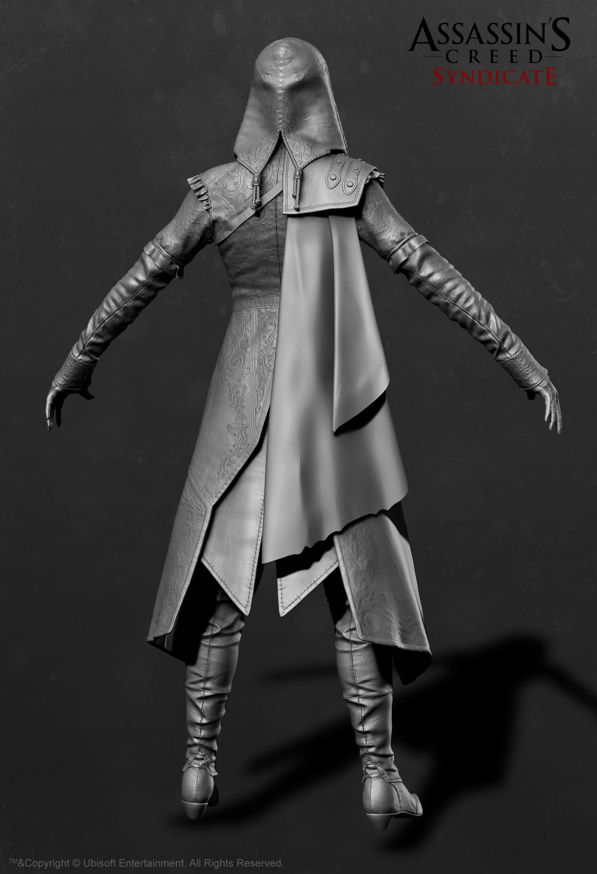 Evie Frye Outfit Assassin S Creed Syndicate Sabin Lalancette Assassins Creed Assassins Creed Evie Assassins Creed Costume