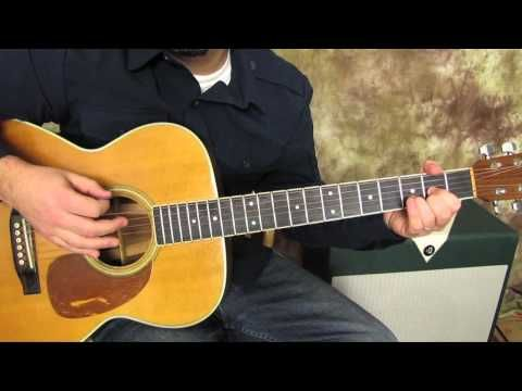 Men At Work - Land Down Under - Easy Acoustic Guitar Lessons - 80\'s ...