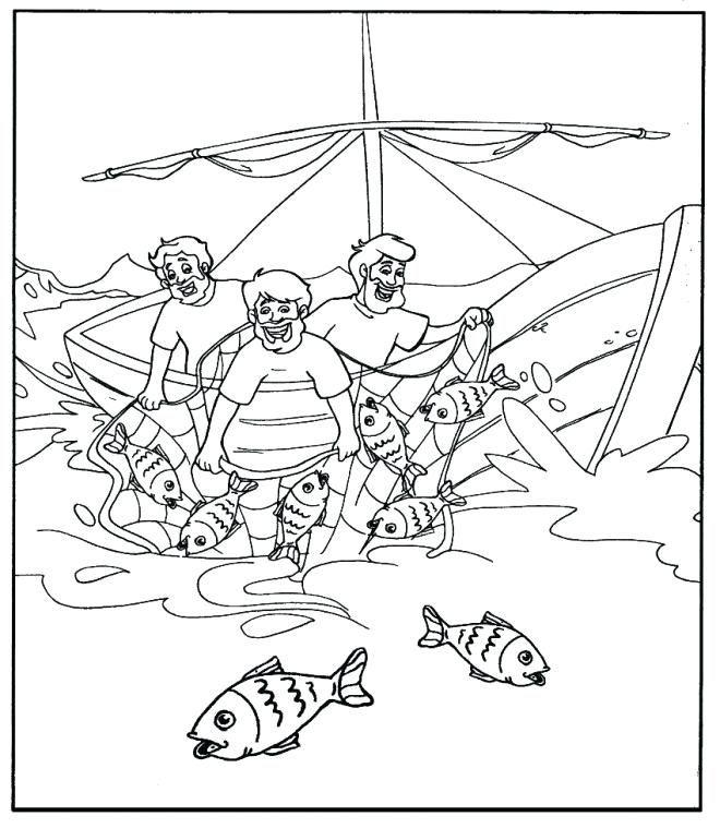 Coloriage pecheur gratuit a imprimer petit zen coloriage et pecheur - Coloriage petit bateau imprimer ...