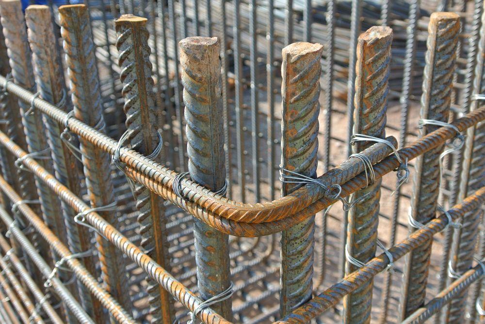 Steel Reinforcement Bars : Bigstock steel reinforcement bars stee  g
