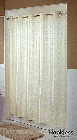 Litchfield Hookless Shower Curtain Curtains Hookless Shower