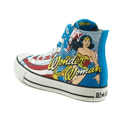 096363a5cf2d Converse All Star Hi Wonder Woman. If i wanted these any more than I do I  would probably be lying on the floor having a tantrum. coolest shoes ever