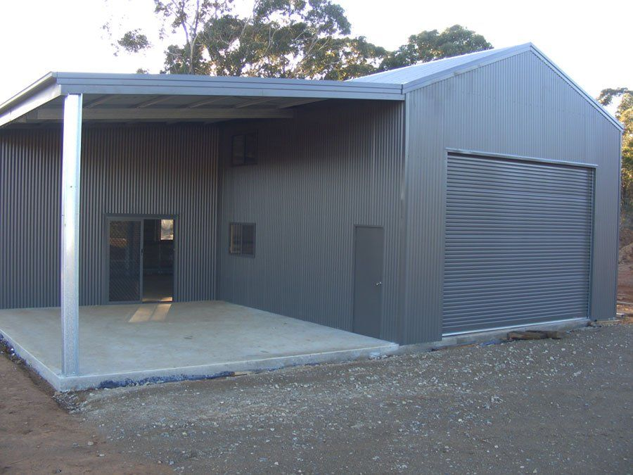Customised Sheds Shed Steel Structure Architecture