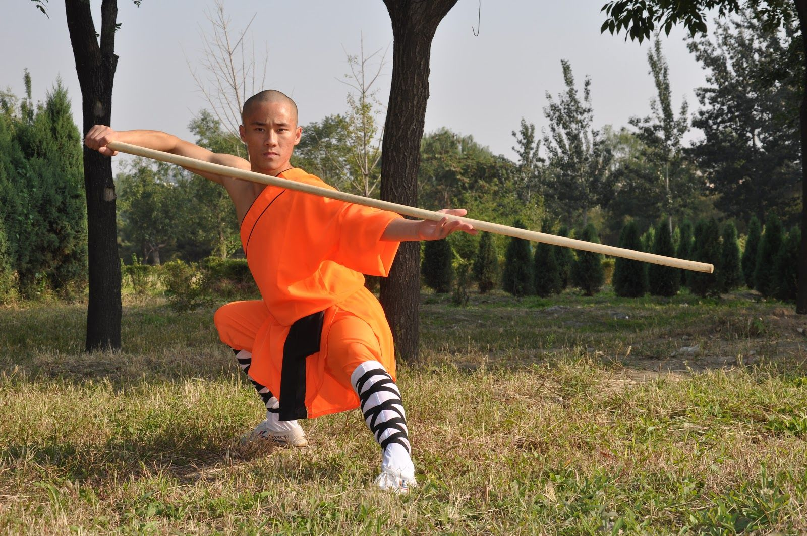 how to be a shaolin kung fu master