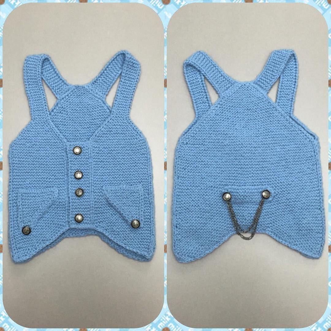 0 1 Yas Bebek Yelekleri Baby Knit Knitting Handmade Orgu Bebek Yelek Orgu Bebek