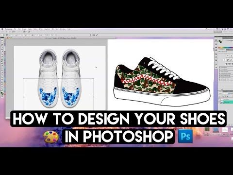996780ab291a How To Fully Design Any Shoe From Any Angle With Photoshop And Angelus S..