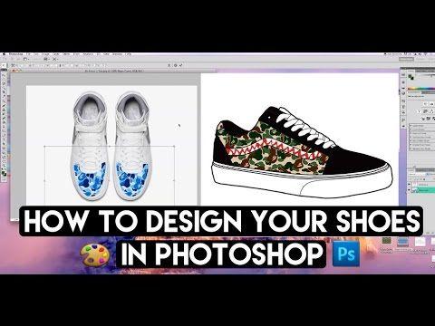 otroliga priser spara upp till 80% ny lista How To Fully Design Any Shoe From Any Angle With Photoshop And ...