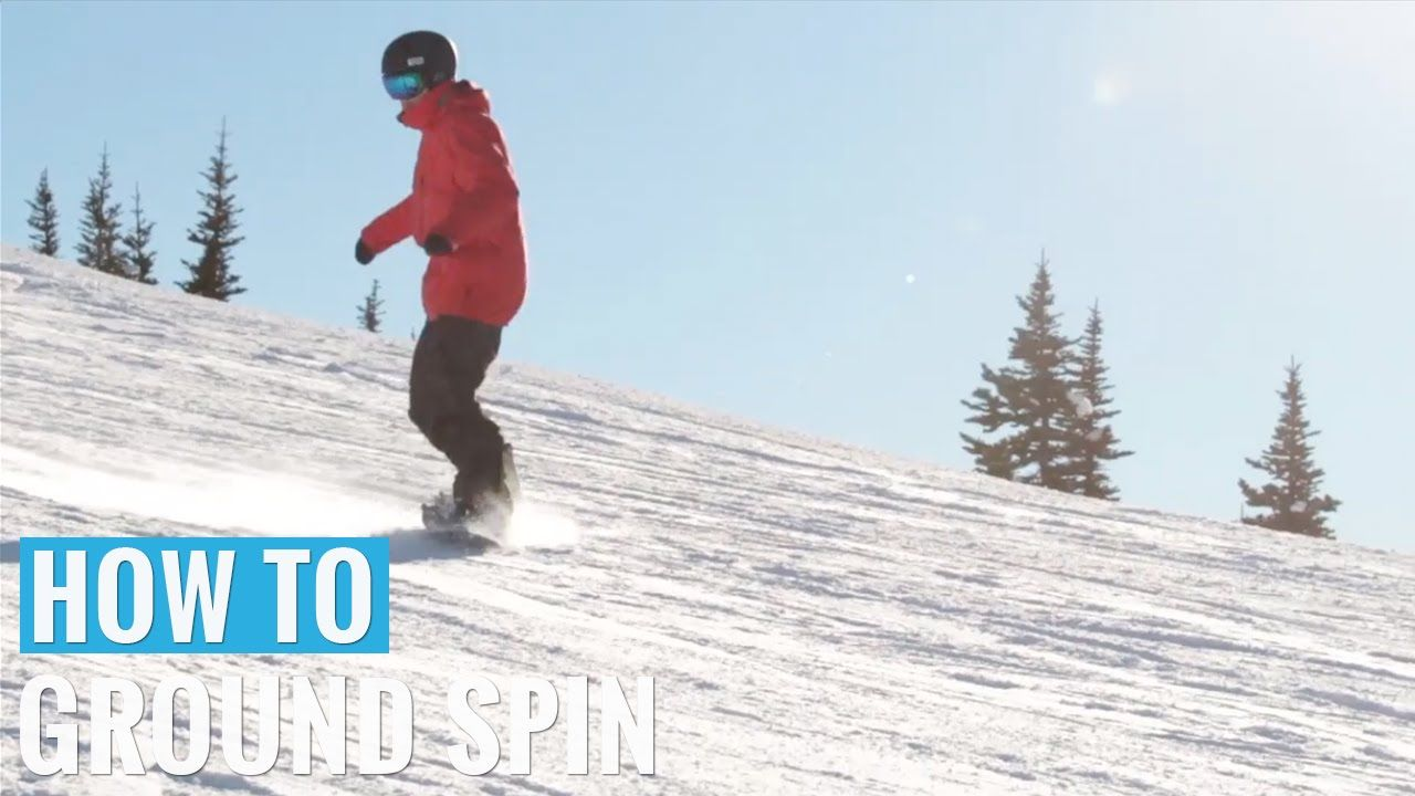 Learn how to ground spin on your snowboard moving up to buttering tricks with Snowboard Addiction. iRide snowboard tutorial pages. iRide ski & snowboard app