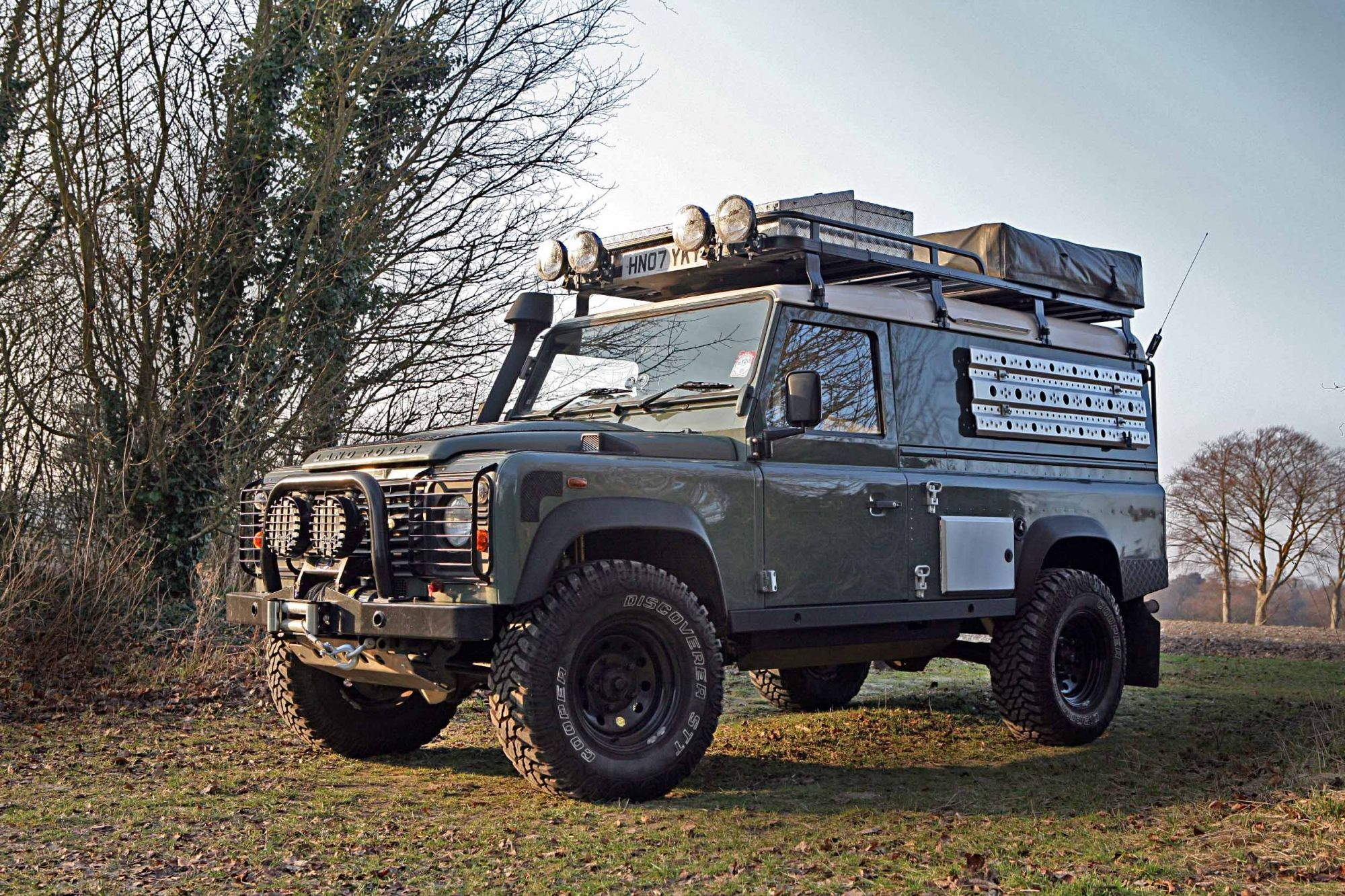Land Rover Defender 110 Hardtop expedition/overland. This