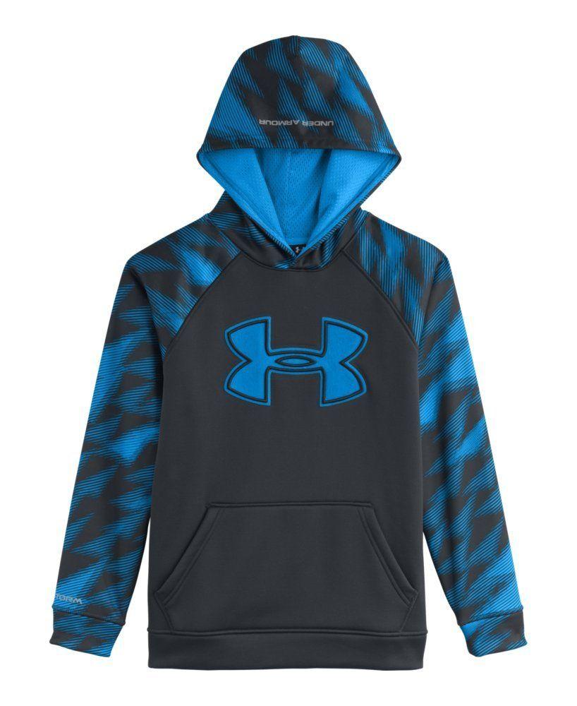 b0df213a178cf Amazon.com: Under Armour Big Boys' UA Storm Armour® Fleece Big Logo ...