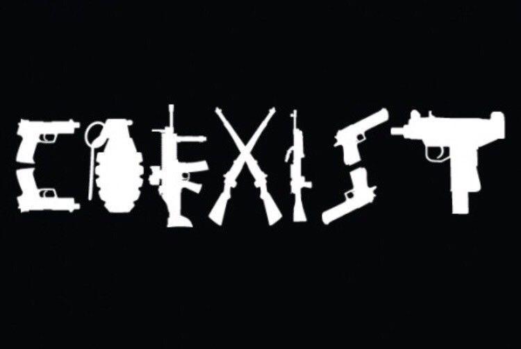 """I CARRY 17/"""" GUN 2nd ammendment car weapon decal sticker window TRUCK bullets"""
