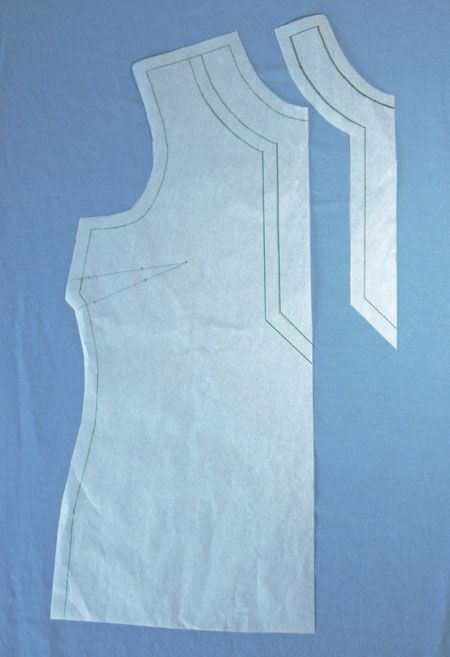 How to Adapt a Shirt Pattern to Make an Adorable Tunic Top: Part One