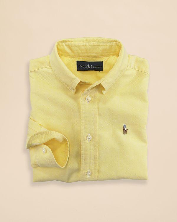 41b83884 ... coupon code for ralph lauren childrenswear boys oxford shirt sizes 8 20  1cb73 a584c