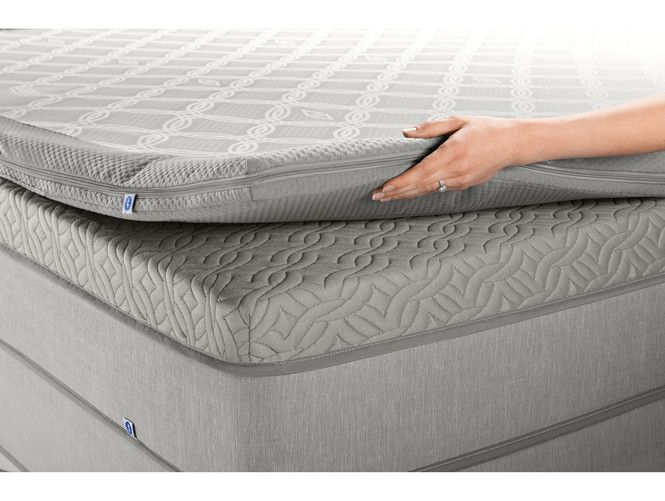 Mattress Pads Toppers Dualtemp Layer Sleep Number Matras Dizajn