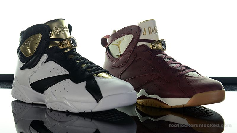 Air Jordan 7 Retro \u201cChampionship\u201d Pack \u2013 Foot Locker Blog
