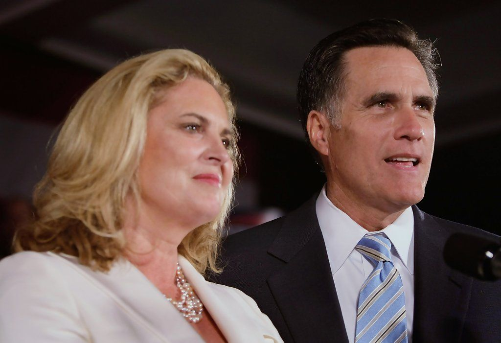Ann Romney Photos: Romney Holds Super Tuesday Night Event In Boston