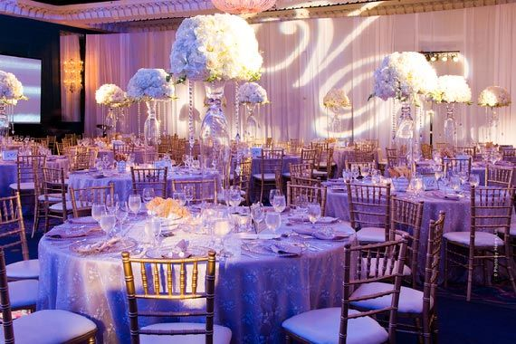 Elegant Wedding Reception Decoration Elegant Wedding Decoration