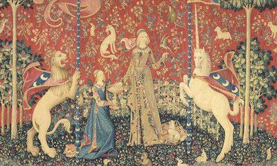 La Musique Au Moyen Age Musee De Cluny Tapisserie Medievale Dame A La Licorne Musee