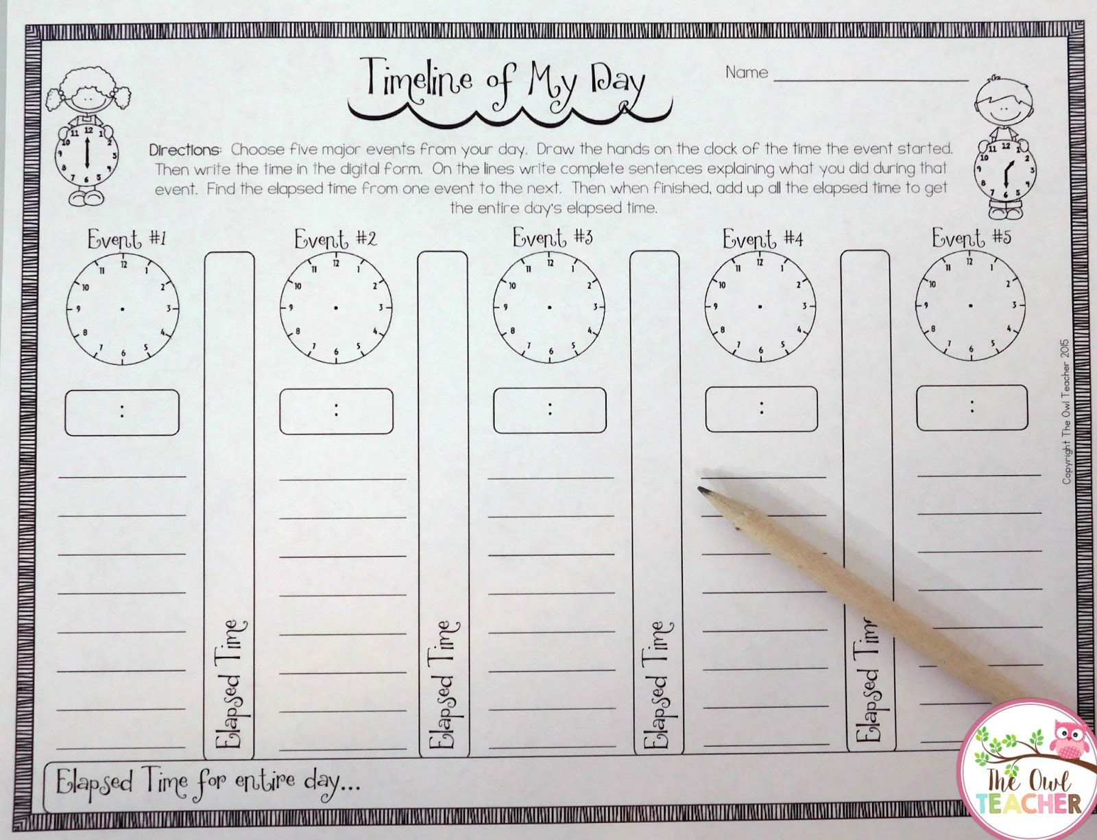 worksheet Days Elapsed 17 best ideas about elapsed time on pinterest teaching math a timeline of my day