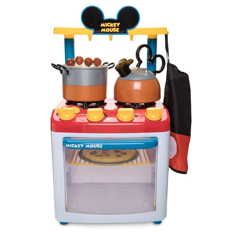Mickey Mouse Kitchen Play Set Shopdisney Mickey Mouse Kitchen Mickey Mouse Kitchen Set Minnie Mouse Kitchen