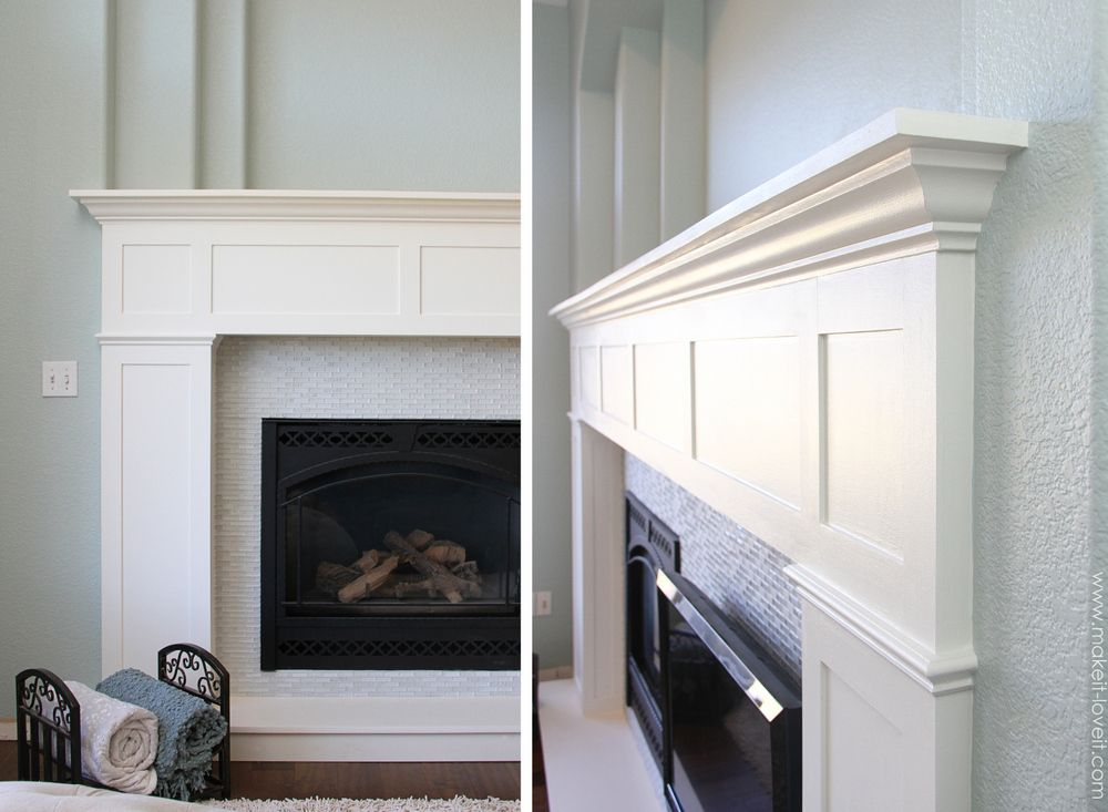 Home Improvement: Build your own Fireplace Mantel & Hearth ...