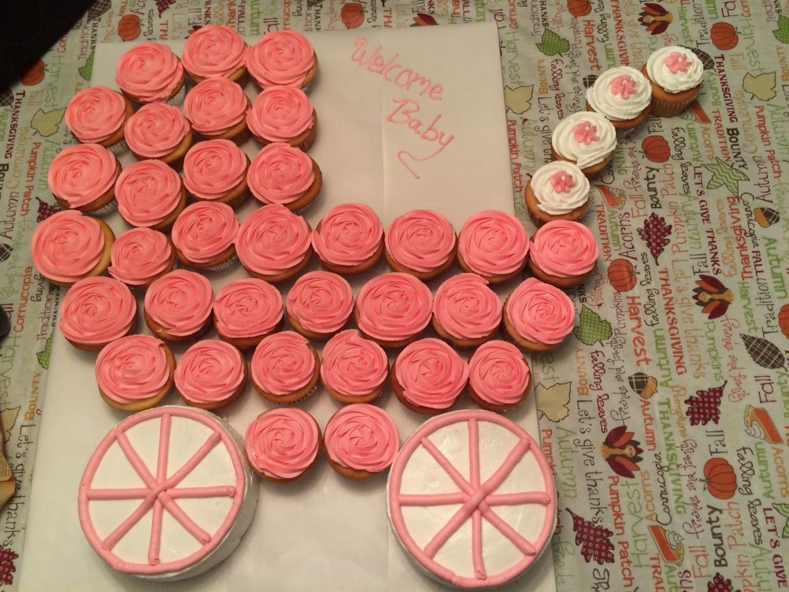 Baby Carriage Pull Apart Cake Cakes Cupcakes I Ve Done