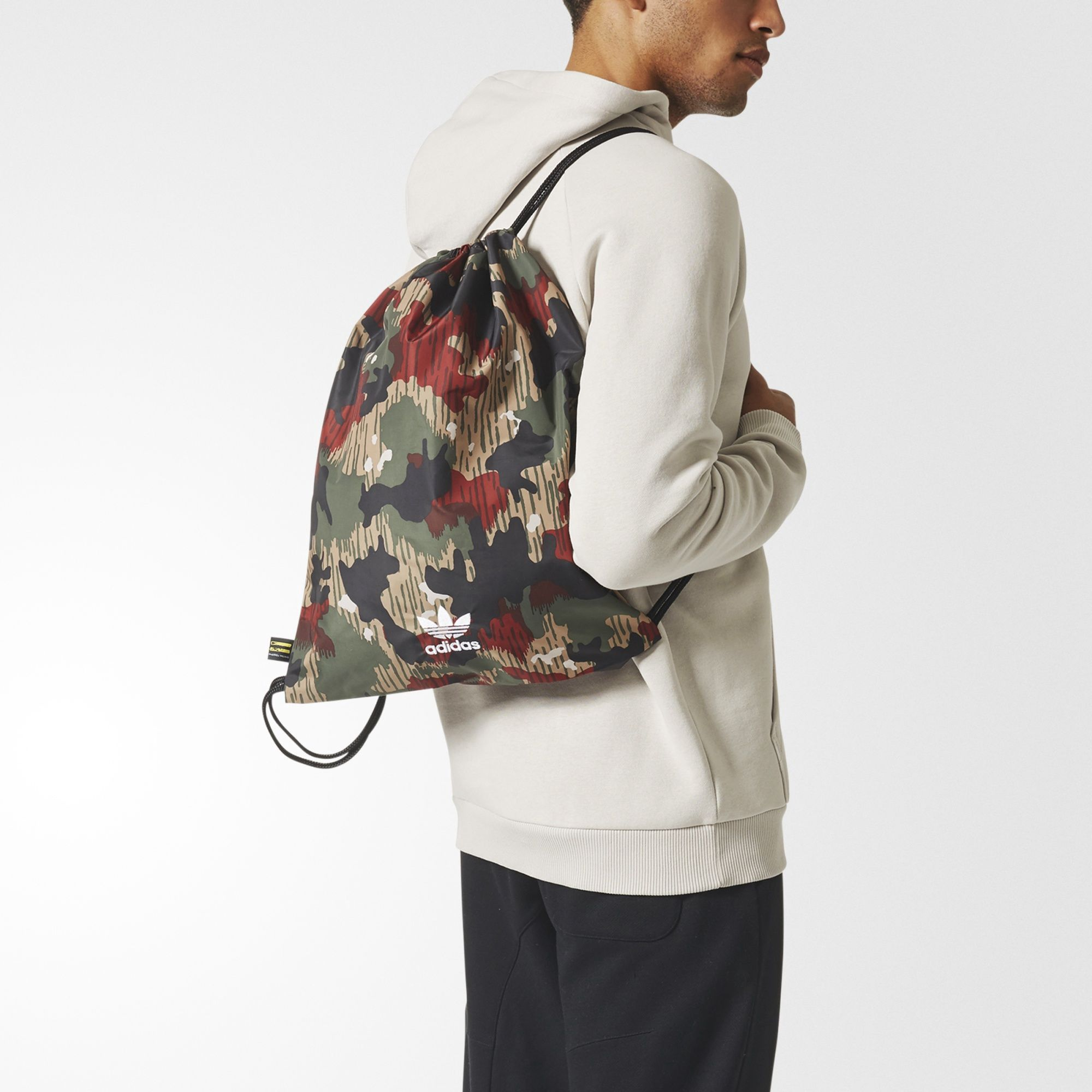 ADIDAS ORIGINALS Pharrell Williams Hu Hiking Gym Sack.  adidasoriginals   cloth   d7e2e11789