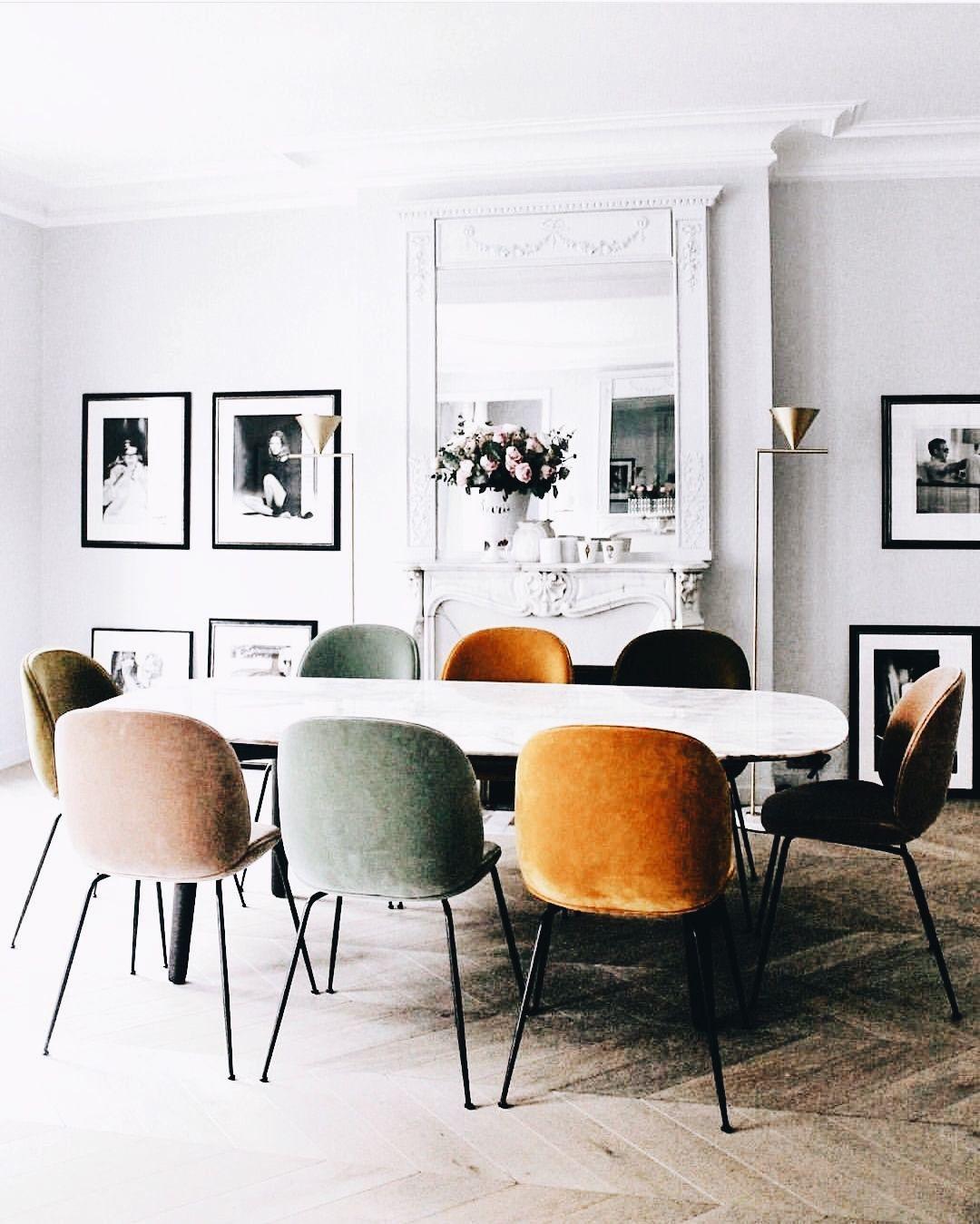 Cómo combinar sillas diferentes en el comedor con resultados