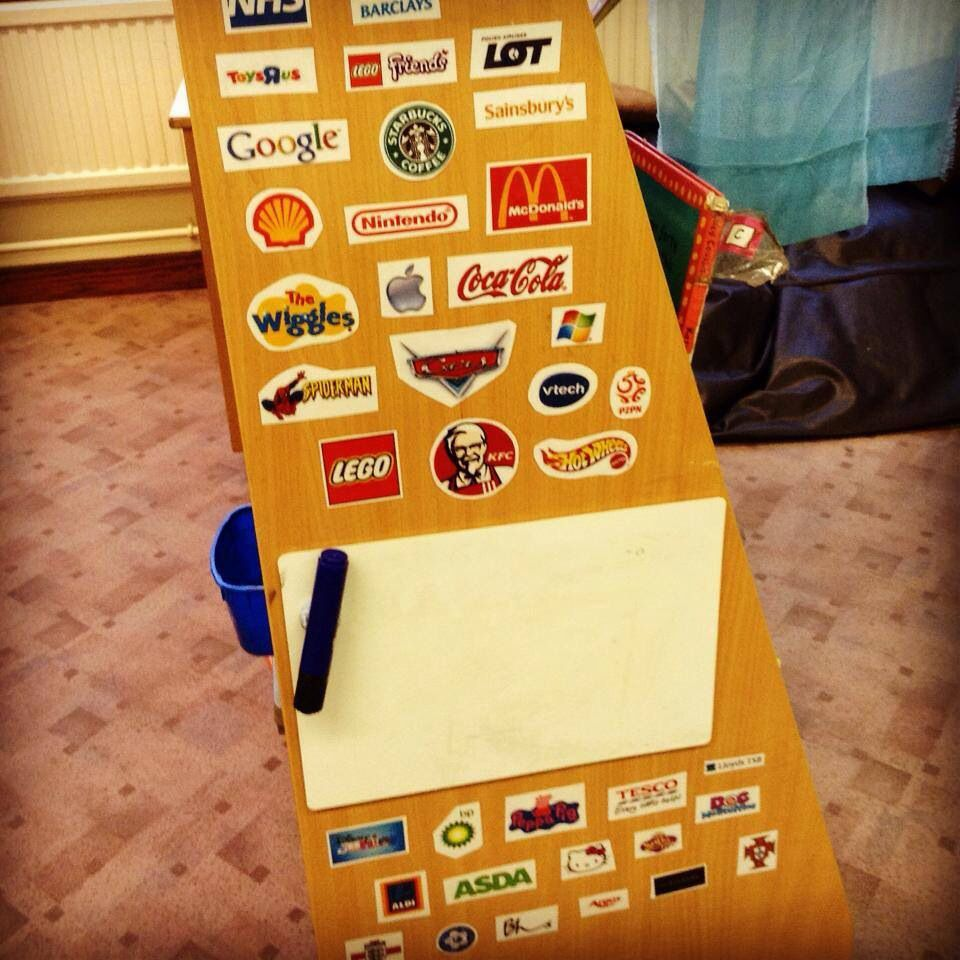Logo early reading recognition | Early Years- Literacy | Pinterest ...
