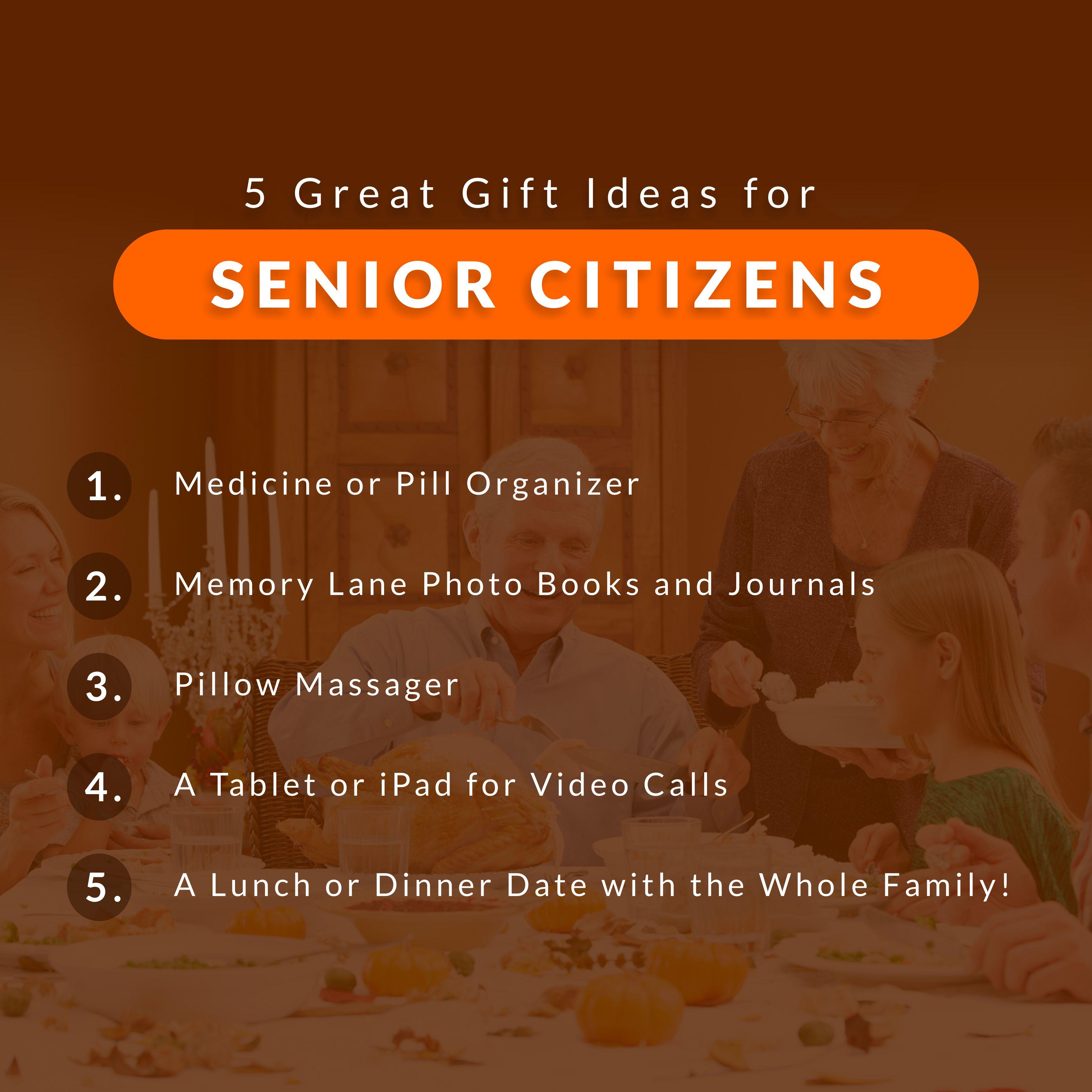 5 great gift ideas for senior citizens seniors gifts