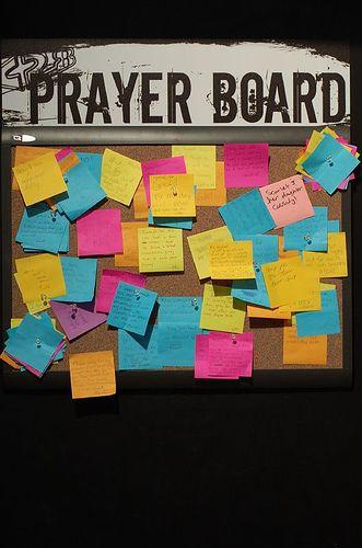 Prayer board … | bulletin board ideas | Youth…