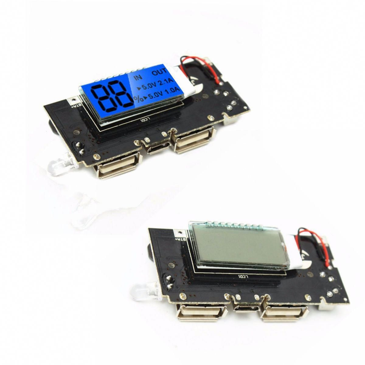 5V 2.1A Lithium Battery Power Bank Charger Module Charging Circuit PCB Board