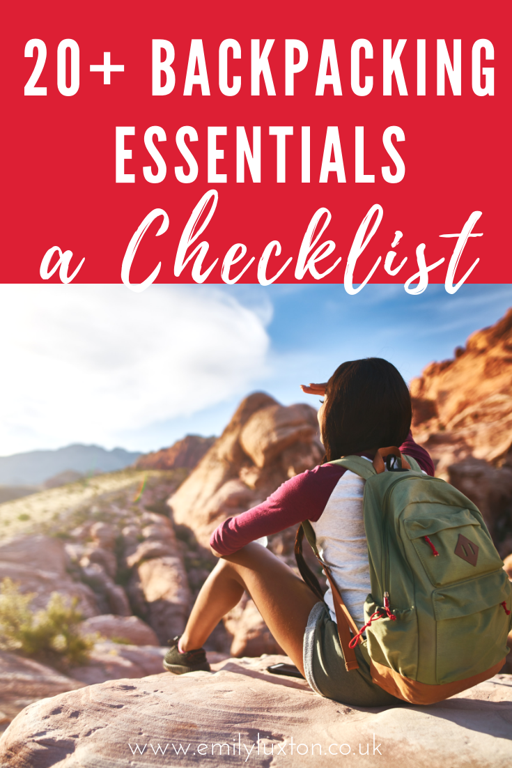08705f7da2 20+ Insanely Useful Backpacking Essentials for Long Term Travel ...