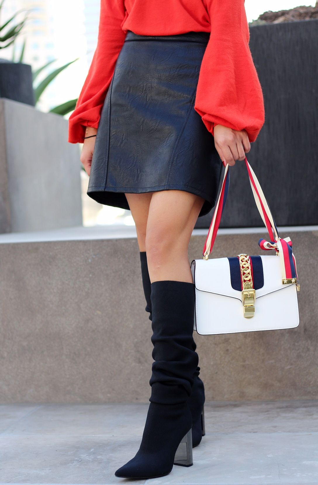 a0ab42aebad poshclassymom-something-navy-nordstrom-treasure-bond -off-shoulder-sweater-zara-leather-mini-skirt-over-the-knee-sock-boots -gucci-bag-5