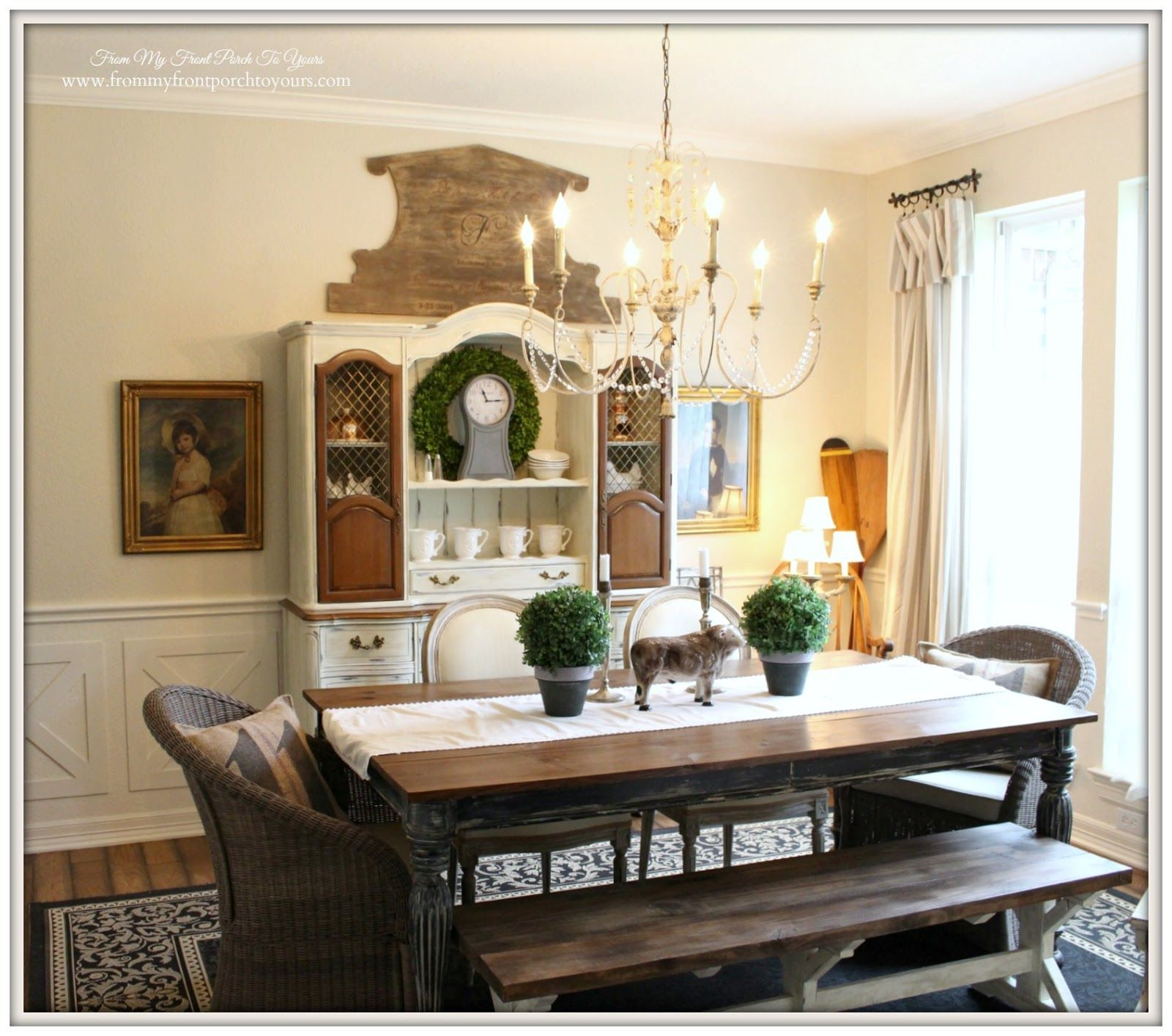 country dining rooms. French Country Farmhouse Dining Room  Country Dining Room