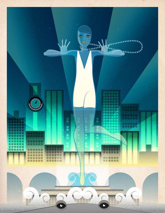 Art Deco in Illustrator