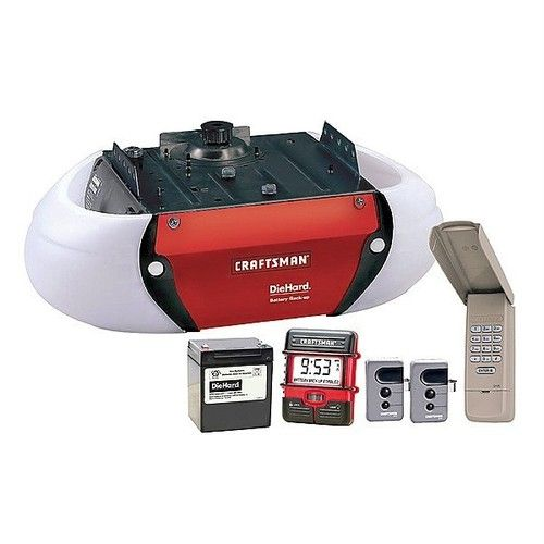 Craftsman 3 4 Hp Hps Belt Drive Garage Door Opener 53918 New Open Box Garage Door Opener Remote Craftsman Garage Door Opener Quiet Garage Door Opener