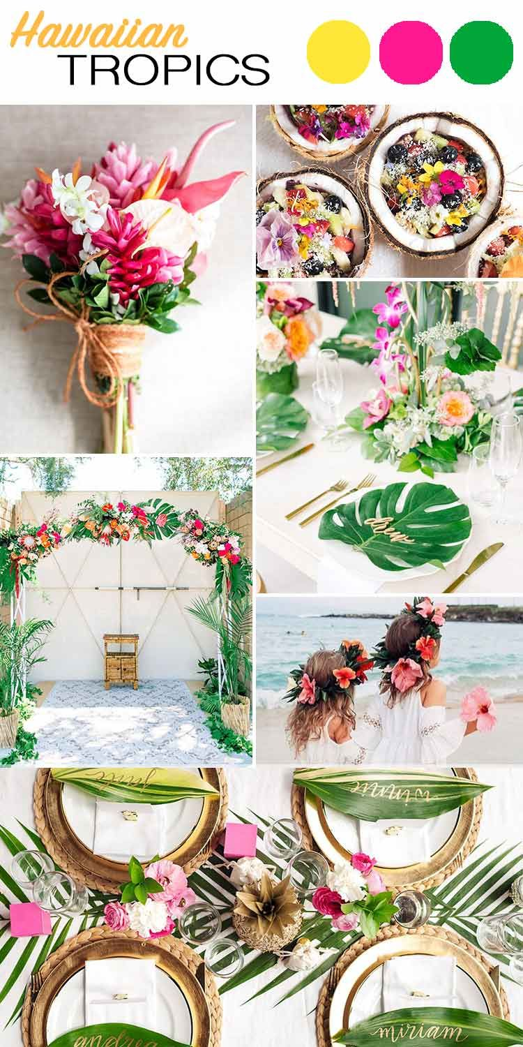 The Top 5 Color Palettes For Your Summer Wedding Wilkie Beach