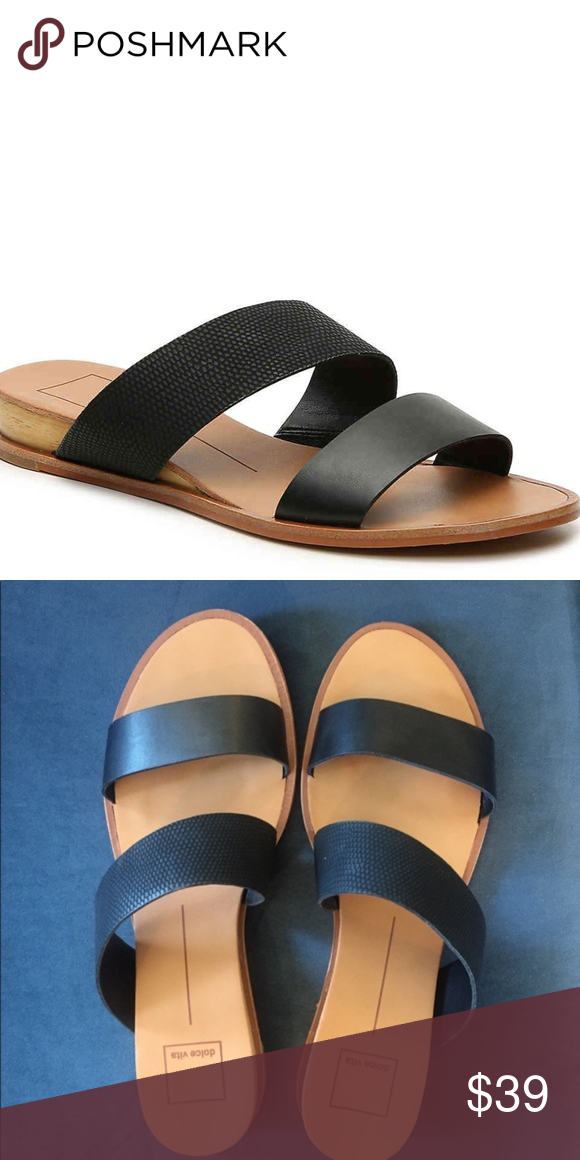 3dfe5768c3c Dolce Vita Paci Slip on Sandal Gently used condition. Comment for ...